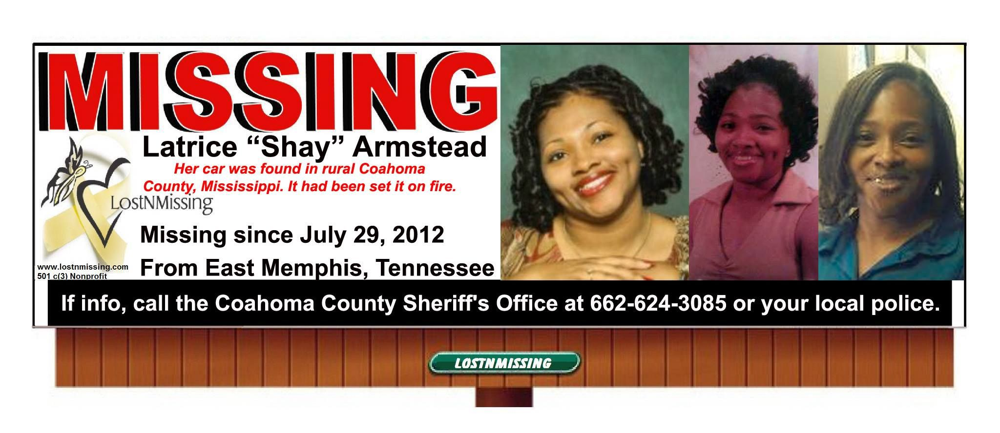 Latrice Shay Armstead Missing