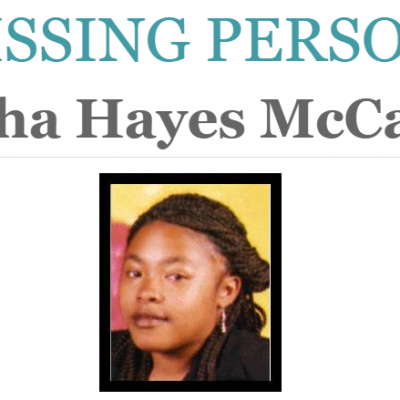 Latisha Hayes McCarter, 15, May Have Been Kidnapped In 1998